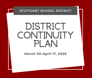 Continuity Plan March 30-April 17